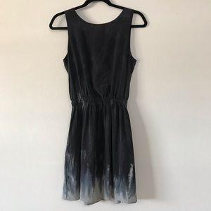 Gypsy 05 dark grey with blue tie dye dress
